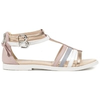 Sandály GEOX J SANDAL KARLY GIRL ROSE/LT GREY