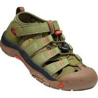 KEEN NEWPORT H2 YOUTH olive drab/orange