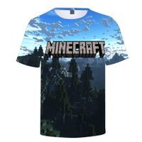 Triko MINECRAFT Forest & Mountains