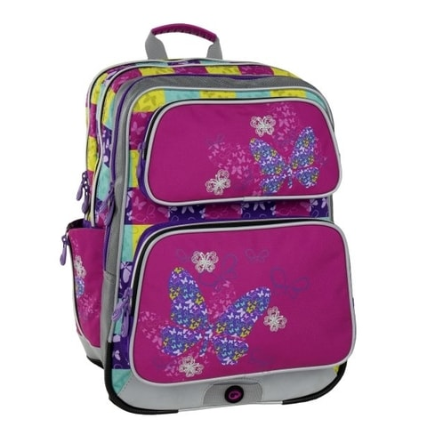 BAGMASTER GALAXY 6 B PINK/BLUE/YELLOW