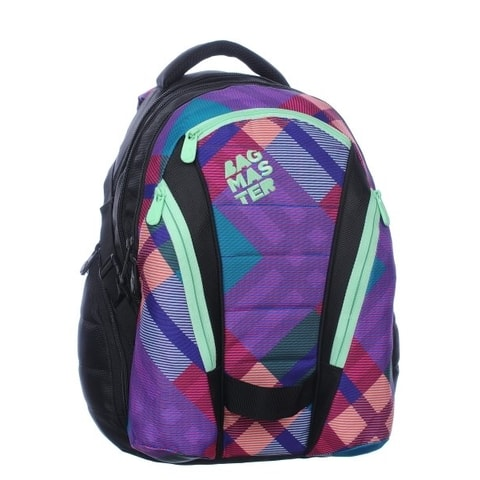 BAGMASTER BAG 0115 A PINK/GREEN