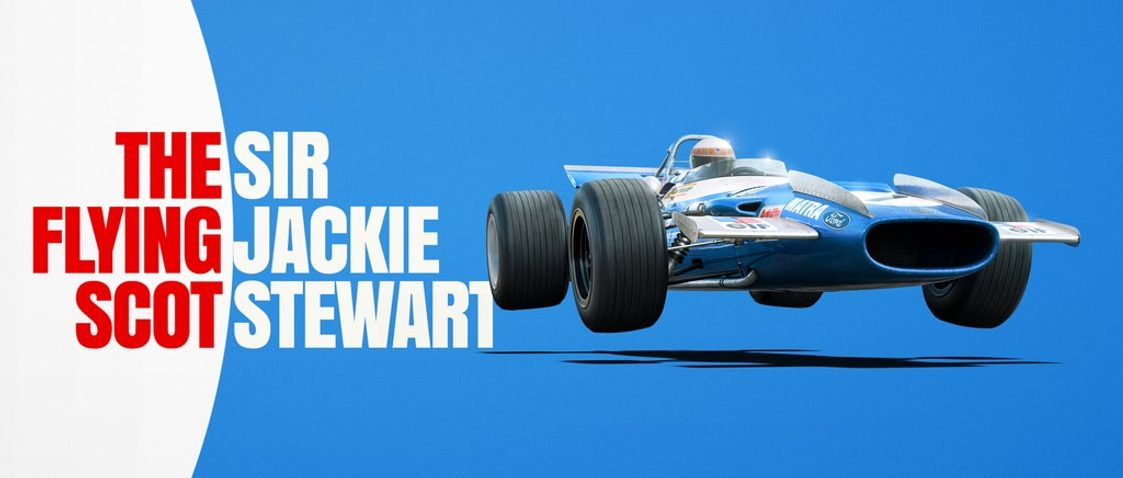 Matra MS80 - Sir Jackie Stewart - The Flying Scot - Nürburgring GP - 1969 - Poster | Signed