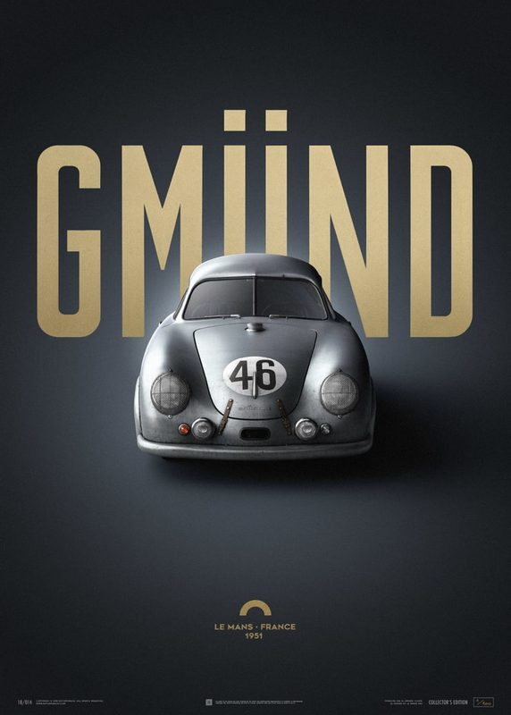 Porsche Gmund - Silver - 24h Le Mans - 1951 | Collector's Edition | Unique #s