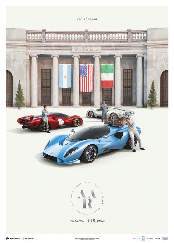 De Tomaso - Mission AAR - Our Roots meet our Future | Collector's Edition