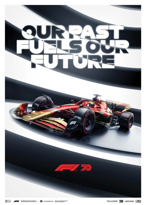 FORMULA 1® OUR PAST FUELS OUR FUTURE - 70TH ANNIVERSARY | Limited Edition