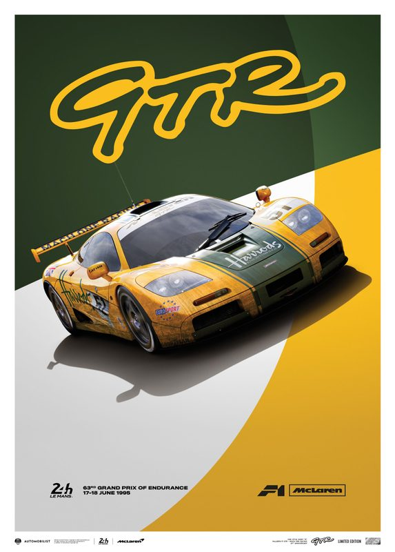 McLaren F1 GTR - Mach One Racing - 1995 | Limited Edition