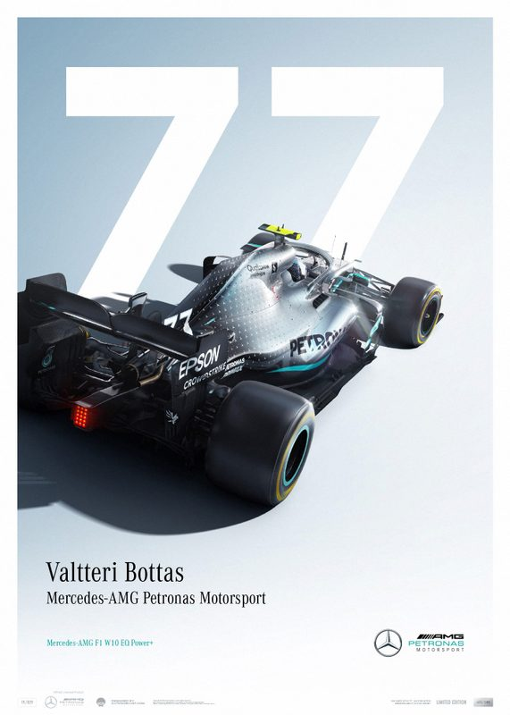 Mercedes-AMG Petronas Motorsport - Valtteri Bottas - Limited Edition