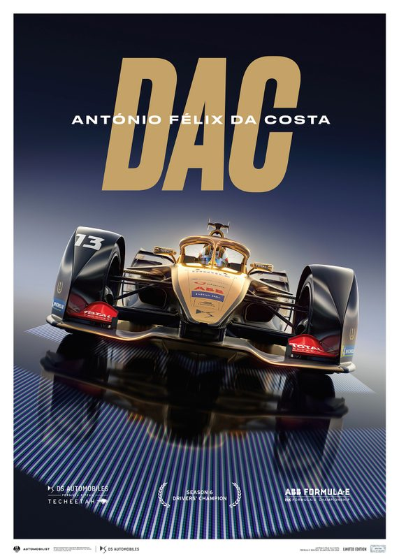 DS TECHEETAH - Formula E Team - António Félix Da Costa | Limited Edition