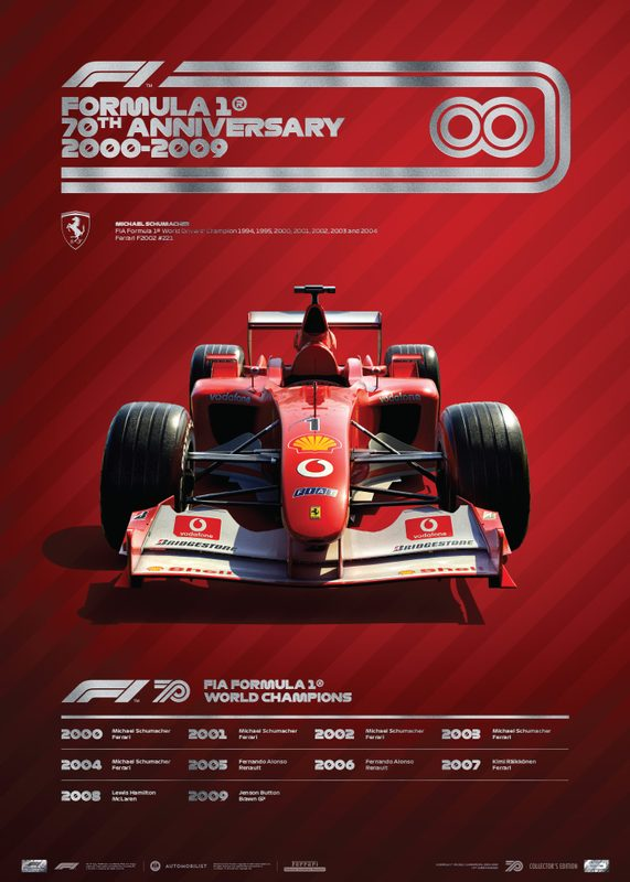 FORMULA 1® DECADES - 2000s Ferrari | Collector's Edition
