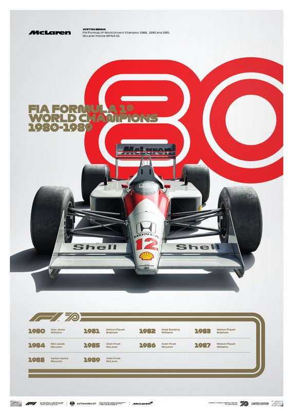FORMULA 1® DECADES - 80s McLaren | Limited Edition