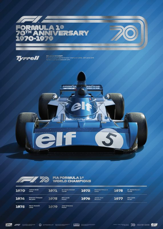 FORMULA 1® DECADES - 70s Tyrrell | Collector's Edition