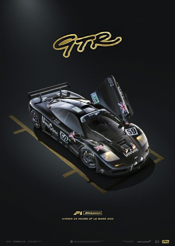 McLaren F1 GTR - 24h Le Mans | Collector's Edition | Unique #s