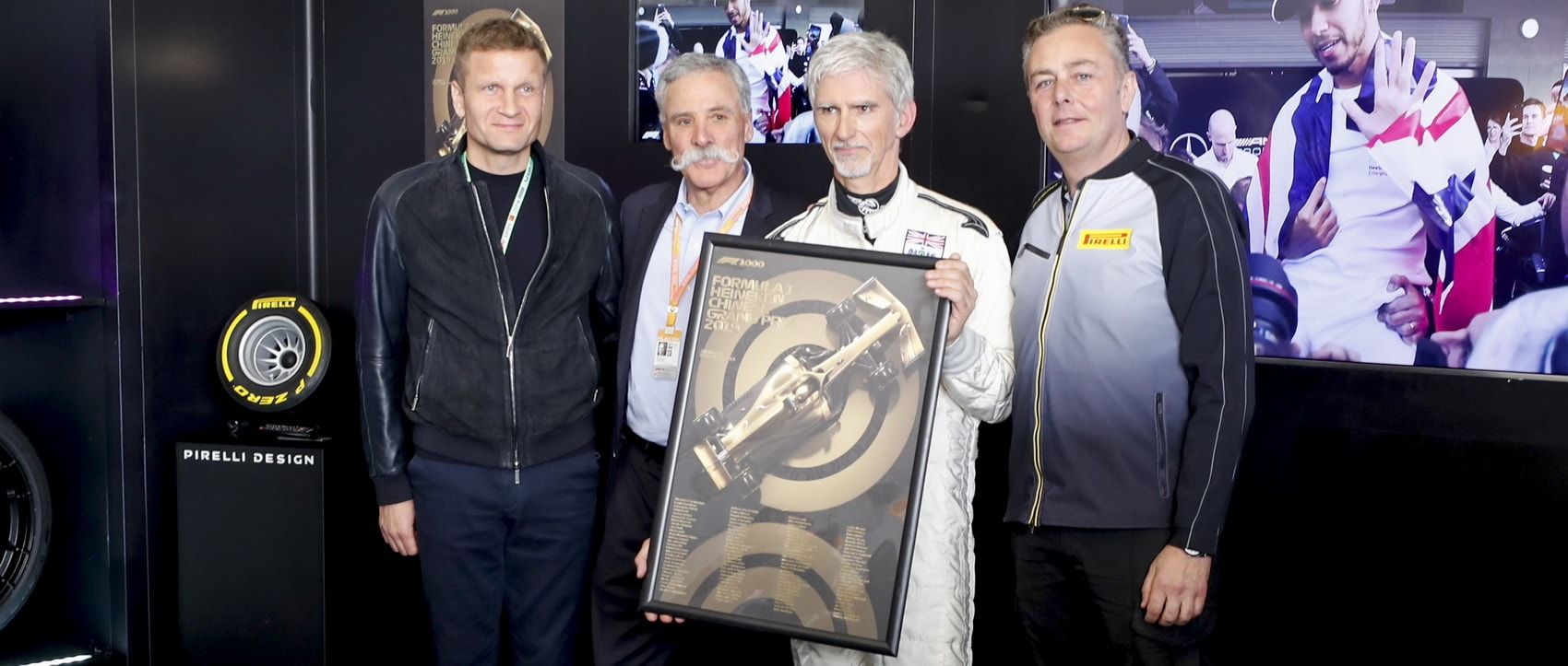 Automobilist unveiled the Formula 1® 1000th Grand Prix™ posters at the FORMULA 1 HEINEKEN CHINESE GRAND PRIX 2019