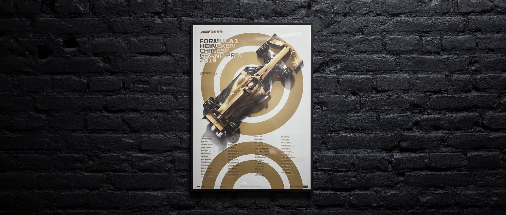 Automobilist launches commemorative Formula 1 1000th Grand Prix posters