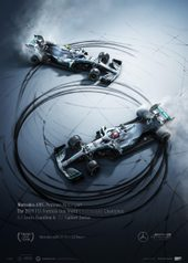 MERCEDES-AMG PETRONAS MOTORSPORT - DONUTS - COLLECTOR'S EDITION - UNIQUE & LIMITED POSTERS