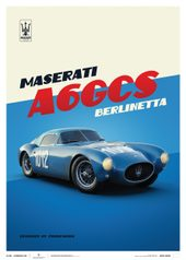 MASERATI A6GCS BERLINETTA 1954 - BLUE - LIMITED EDITION