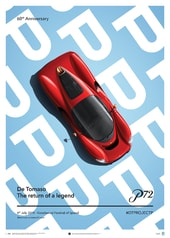 DE TOMASO PROJECT P - TOP VIEW - 2019 - POSTER - DESIGN POSTERS