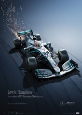 MERCEDES-AMG PETRONAS MOTORSPORT - LEWIS HAMILTON - COLLECTOR'S EDITION - COLLECTOR'S EDITION