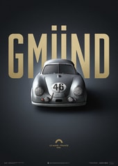 PORSCHE GMUND - SILVER - 24H LE MANS - 1951 | COLLECTOR'S EDITION - COLLECTOR'S EDITION