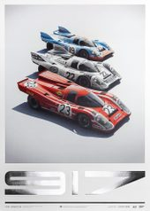 PORSCHE 917 - SALZBURG & MARTINI & GULF - 24H LE MANS | COLLECTOR'S EDITION - COLLECTOR'S EDITION