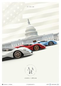DE TOMASO - MISSION AAR - AMERICAN AUTOMOTIVE RENAISSANCE | COLLECTOR'S EDITION - COLLECTOR'S EDITION