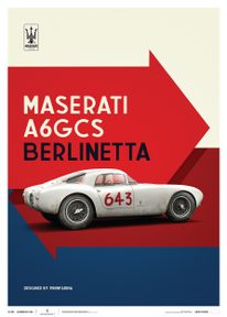 MASERATI A6GCS BERLINETTA 1954 - WHITE | LIMITED EDITION - LIMITED EDITION