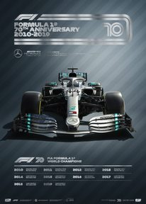 FORMULA 1® DECADES - 2010S MERCEDES-AMG PETRONAS F1 TEAM | COLLECTOR'S EDITION - COLLECTOR'S EDITION