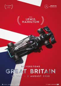 MERCEDES-AMG PETRONAS F1 TEAM - GREAT BRITAIN 2020 - LEWIS HAMILTON | COLLECTOR'S EDITION - F1 POSTERS