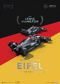 MERCEDES-AMG PETRONAS F1 TEAM - GERMANY 2020 - LEWIS HAMILTON | COLLECTOR'S EDITION - F1 POSTERS
