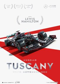 MERCEDES-AMG PETRONAS F1 TEAM - TUSCANY 2020 - LEWIS HAMILTON | COLLECTOR'S EDITION - F1 POSTERS