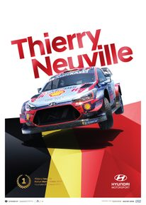 HYUNDAI MOTORSPORT - RALLYE MONTE CARLO 2020 - THIERRY NEUVILLE | COLLECTOR'S EDITION - COLLECTOR'S EDITION