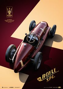 MASERATI 8CTF - THE BOYLE SPECIAL - INDIANAPOLIS 500 MILE RACE - 1940 | COLLECTOR'S EDITION - COLLECTOR'S EDITION