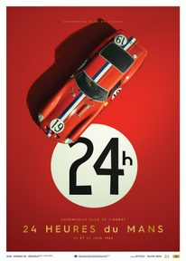 FERRARI 250 GTO - RED - 24H LE MANS - 1962 - COLLECTOR'S EDITION - COLLECTOR'S EDITION