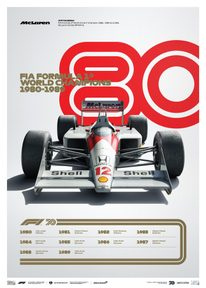 FORMULA 1® DECADES - 80S MCLAREN | LIMITED EDITION - LIMITED EDITION