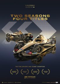 DS TECHEETAH - FORMULA E TEAM - 2 SEASONS, 4 TITLES | COLLECTOR'S EDITION - COLLECTOR'S EDITION