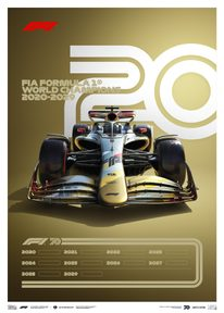 FORMULA 1® DECADES - 2020S THE FUTURE LIES AHEAD | LIMITED EDITION - LIMITED EDITION