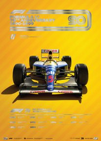 FORMULA 1® DECADES - 90S WILLIAMS | COLLECTOR'S EDITION - COLLECTOR'S EDITION