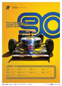 FORMULA 1® DECADES - 90S WILLIAMS | LIMITED EDITION - LIMITED EDITION