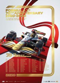 FIA FORMULA 1® WORLD CHAMPIONS 1950-2019 - 70TH ANNIVERSARY | COLLECTOR'S EDITION - F1 POSTERS