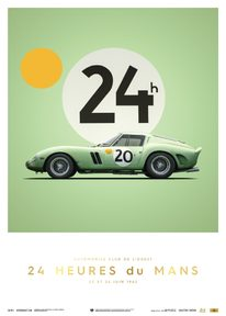 FERRARI 250 GTO - GREEN - 24H LE MANS - 1962 - COLLECTOR'S EDITION - COLLECTOR'S EDITION