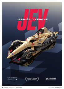 DS TECHEETAH - FORMULA E TEAM - JEAN-ÉRIC VERGNE | LIMITED EDITION - LIMITED EDITION