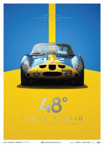 FERRARI 250 GTO - BLUE - TARGA FLORIO - 1964 - COLLECTOR'S EDITION - COLLECTOR'S EDITION