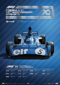 FORMULA 1® DECADES - 70S TYRRELL | COLLECTOR'S EDITION - COLLECTOR'S EDITION