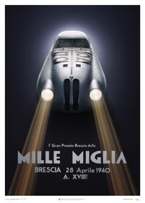 BMW 328 - SILVER - MILLE MIGLIA - 1940 | COLLECTOR'S EDITION - COLLECTOR'S EDITION