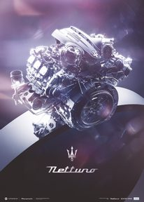 MASERATI NETTUNO - ENGINE - THE RING | COLLECTOR'S EDITION - COLLECTOR'S EDITION