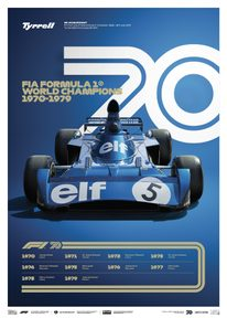 FORMULA 1® DECADES - 70S TYRRELL | LIMITED EDITION - LIMITED EDITION