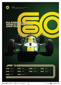 FORMULA 1® DECADES - 60S TEAM LOTUS | LIMITED EDITION - LIMITED EDITION