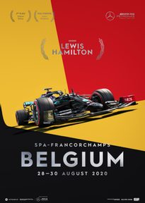 MERCEDES-AMG PETRONAS F1 TEAM - BELGIUM 2020 - LEWIS HAMILTON | COLLECTOR'S EDITION - F1 POSTERS