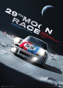 PORSCHE 911 CARRERA RSR - FUTURE - 29TH MOON RACE - 2078 | COLLECTOR'S EDITION - COLLECTOR'S EDITION