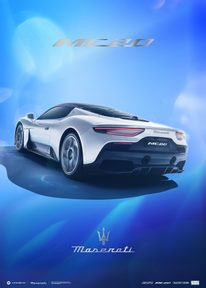 MASERATI CORSE 2020 | MC20 REAR | COLLECTOR'S EDITION - COLLECTOR'S EDITION